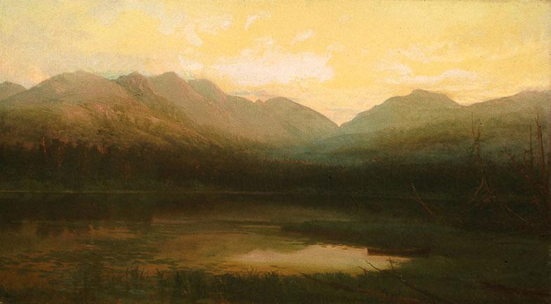 Saranac_Lake_Evening_1857